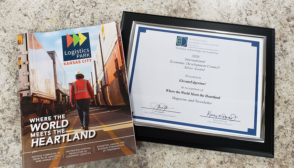 ElevateEdgerton! Receives Excellence in Economic Development Award from the International Economic Development Council